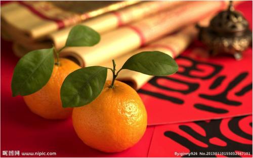 5 chinese new year greetings to try out on your friends chinese new year tangerines m4hsunfo
