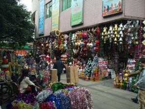 Christmas Wholesale Market in Guangzhou