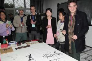 Writing Chinese names