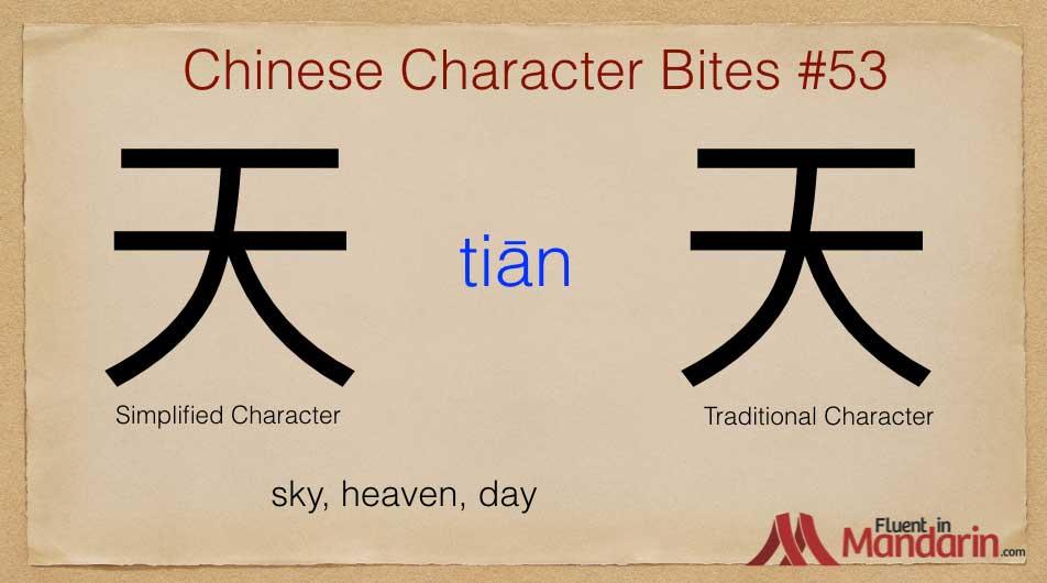 Chinese Character Bites 53